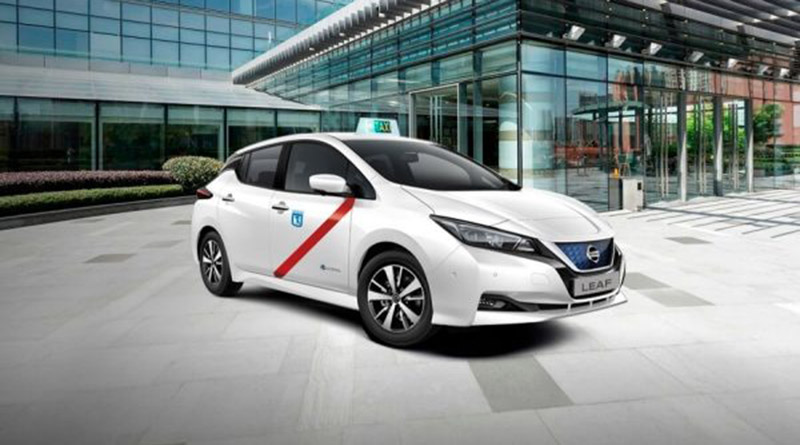 Electric taxis in Spain