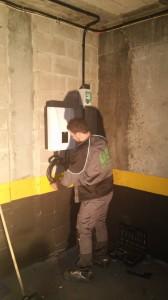 instalación de punto de carga en garaje comunitario 2