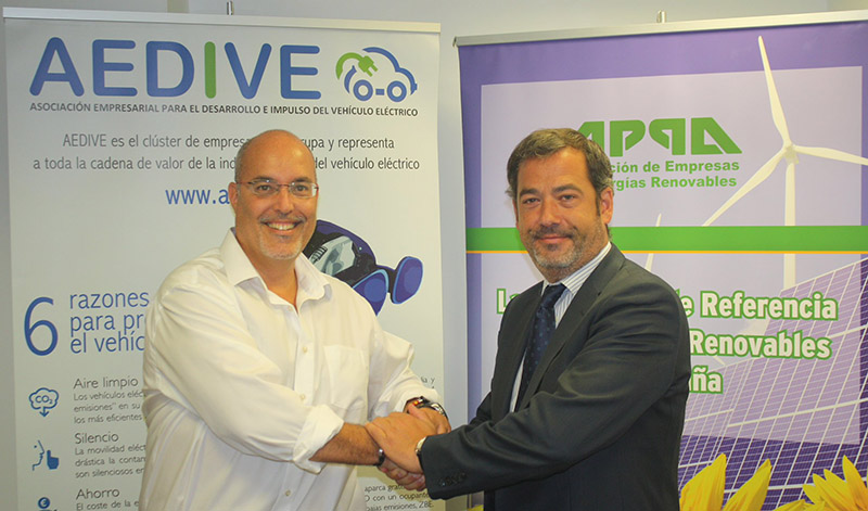 AEDIVE y APPA colaborarán en el impulso al vehículo sostenible