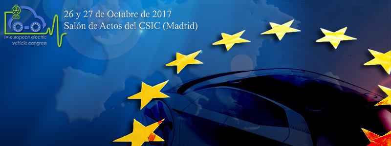 IV Congreso Europeo del Vehículo Eléctrico CEVE 2017
