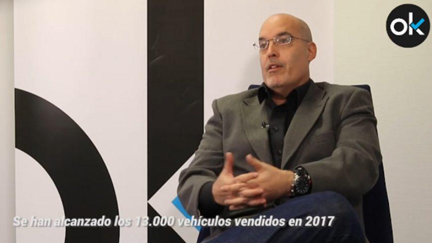 """Arturo Pérez de Lucia, director gerente de AEDIVE: """"En 2040 la mitad de los coches serán eléctricos"""""""