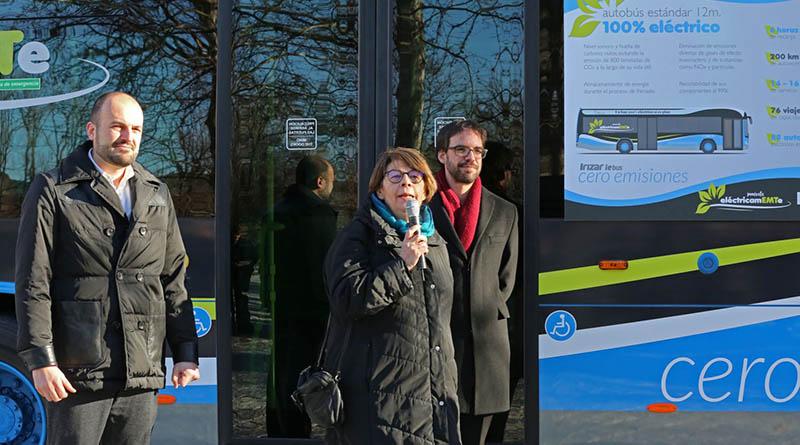 EMT incorpora sus primeros 15 autobuses estándar 100% eléctricos a la flota