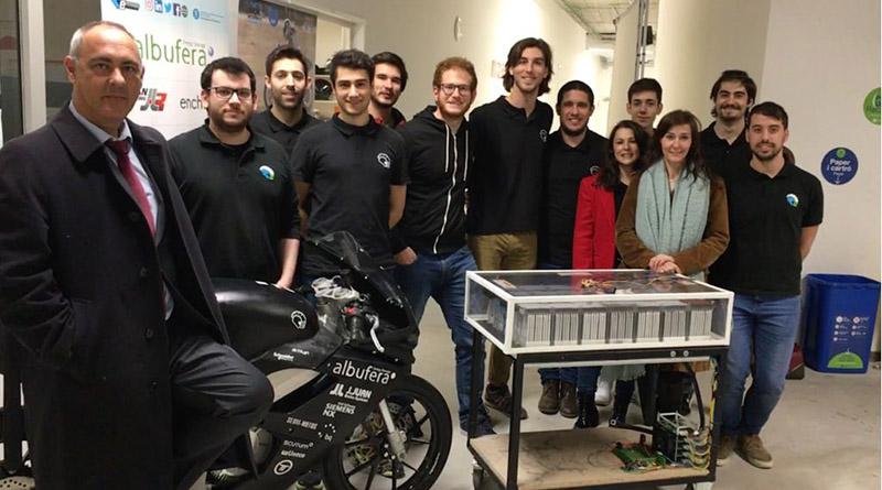 Albufera Energy Storage confirma los buenos resultados de su batería para la competición MotoStudent