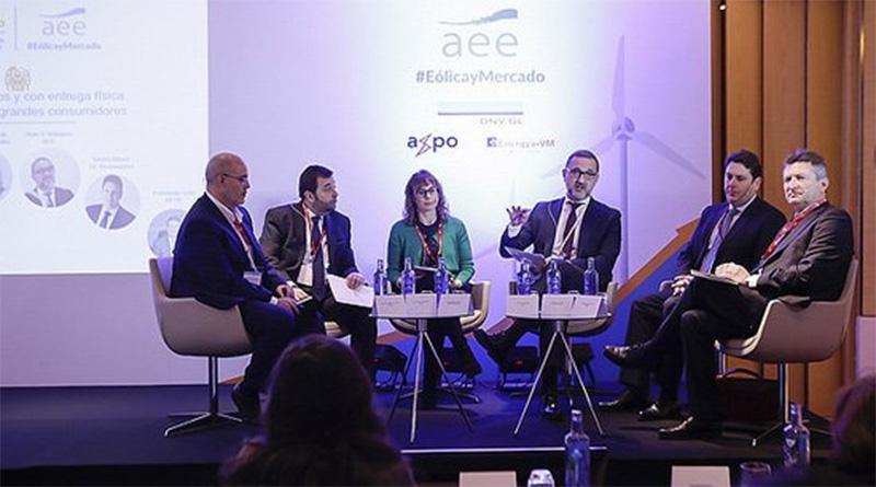 Aedive participó en una jornada de la Asociación Empresarial Eólica