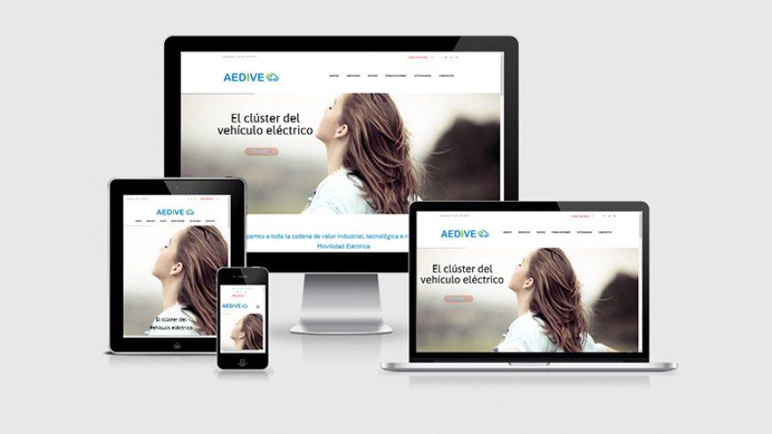 Página Web renovada de AEDIVE