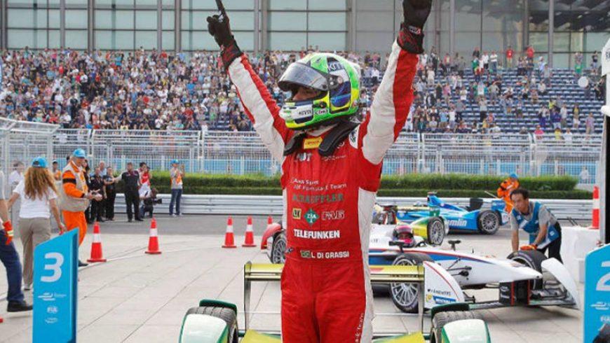 Torrot entra en el paddock de la Fórmula E