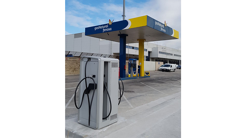Lafon, Etecnic y Gas Natural Fenosa impulsan la carga rápida en Madrid