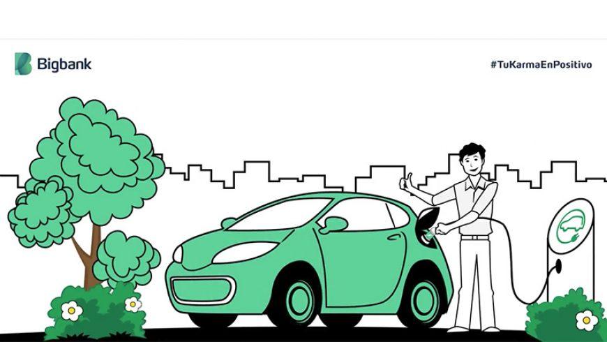Bigbank: «Las solicitudes de financiación de coches eléctricos aumentan un 100%»