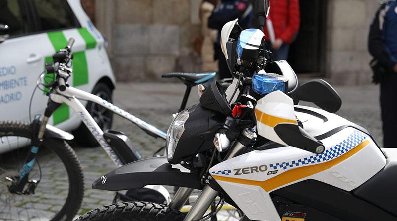 El Ayuntamiento de Madrid incorpora 78 vehículos eléctricos a su flota