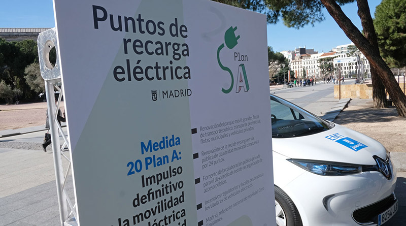 EMT pone en marcha estaciones de recarga eléctrica rápida en sus aparcamientos