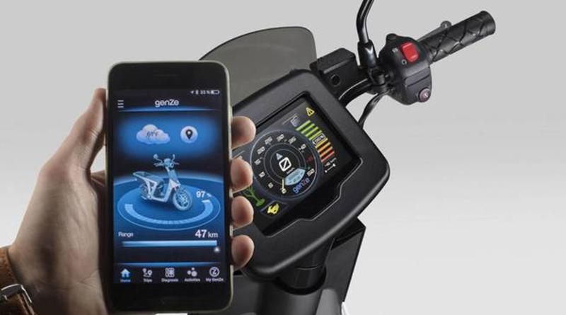 Peugeot 2.0, la moto eléctrica para el reparto urbano