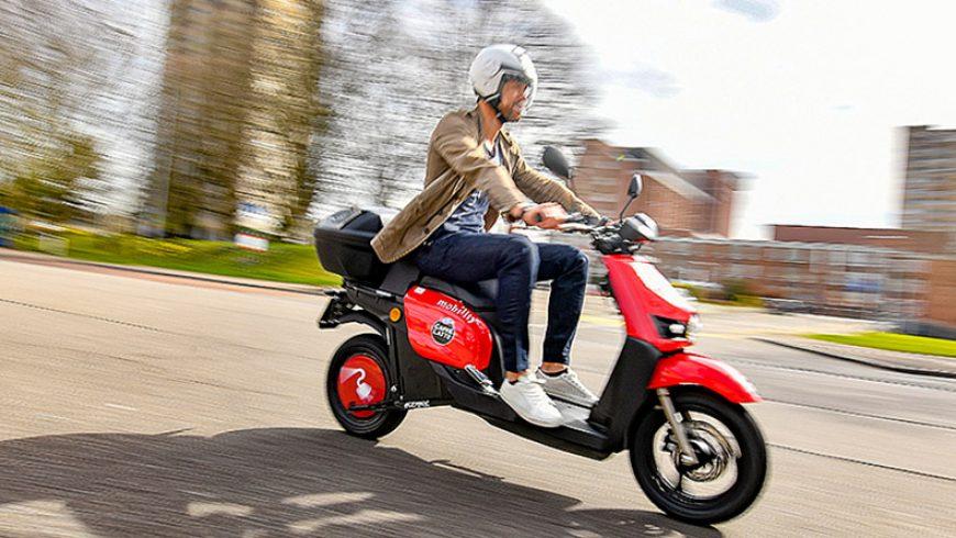 Llega a Zúrich el nuevo motosharing de Mobility