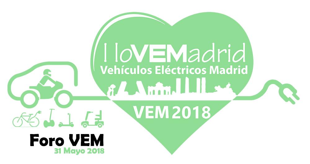 El FORO VEM dará a conocer el presente y futuro de la movilidad eléctrica en Madrid