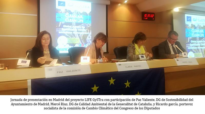 Remote sensing para medición real de todo tipo de emisiones contaminantes en los vehículos que circulan por Madrid región