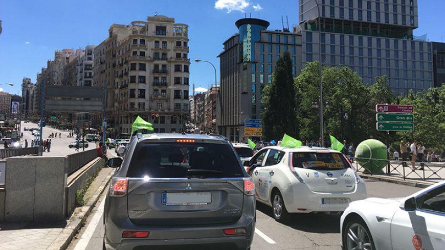 Apúntate a la V Marcha del Vehículo Eléctrico en Madrid el 2 de junio