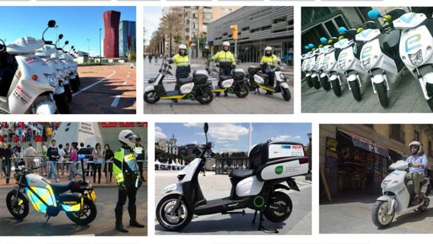 Barcelona se adelanta a Madrid en matriculaciones de vehículos eléctricos en 2018 gracias a las dos ruedas