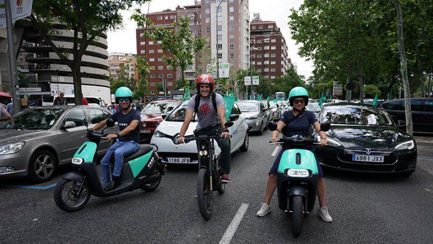 La V Marcha del Vehículo Eléctrico en Madrid el 2 de junio congregó a más de 90 conductores de eléctricos