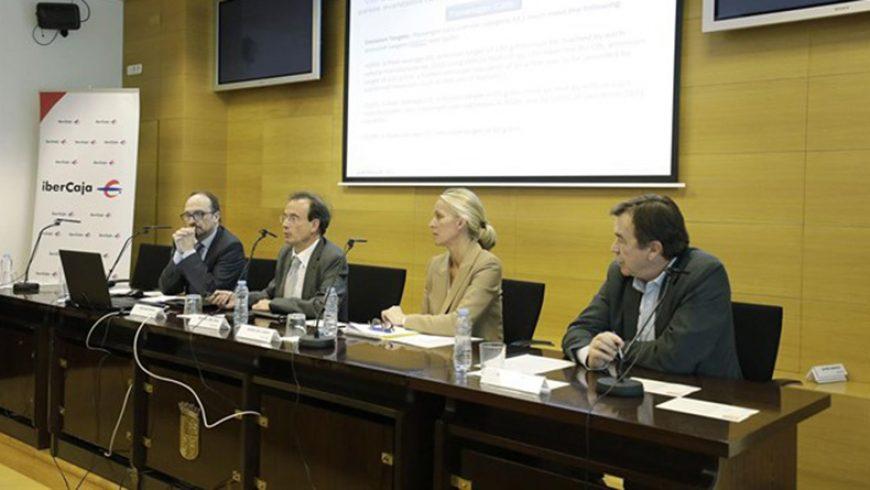 La futura Ley del cambio climático y la transición energética centra la jornada de la Semana ISR 2018 en Ibercaja