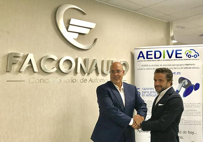 Faconauto y Aedive firma acuerdo