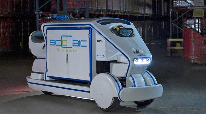 Vehículo eléctrico fruto de un concurso de innovación de Correos operará en Carrefour