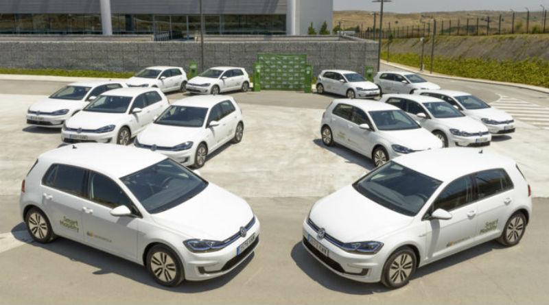 Iberdrola recibe los primeros VW e-Golf de su nueva flota eléctrica