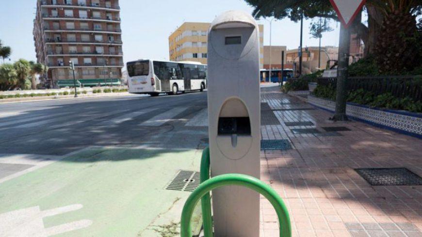 Cartagena cuenta con dos puntos de recarga gratuitos para vehículos eléctricos