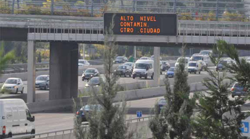 Madrid refuerza su Protocolo por alta contaminación