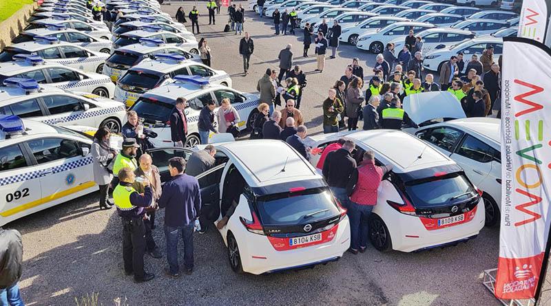 La Diputación de Badajoz entrega 200 Nissan LEAF a los ayuntamientos de la provincia