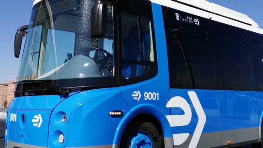 El microbús eléctrico Wolta ha ganado el concurso de EMT Madrid
