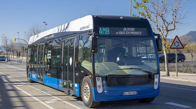 Aptis, la solución de movilidad eléctrica de Alstom, en pruebas en España