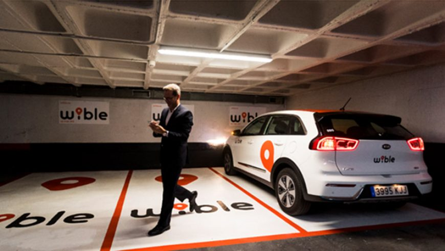 WiBLE lanza 61 plazas gratuitas, para usuarios, distribuidas en 13 parkings
