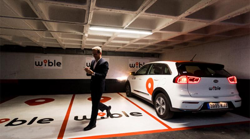 WiBLE lanza 61 plazas gratuitas, para usuarios, distribuidas en 13 parkings