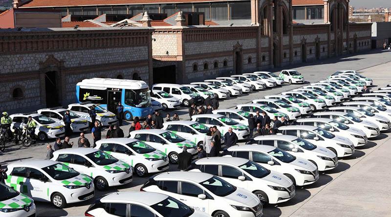 El Ayuntamiento continúa la renovación de su flota con 183 nuevos vehículos Cero Emisiones y ECO