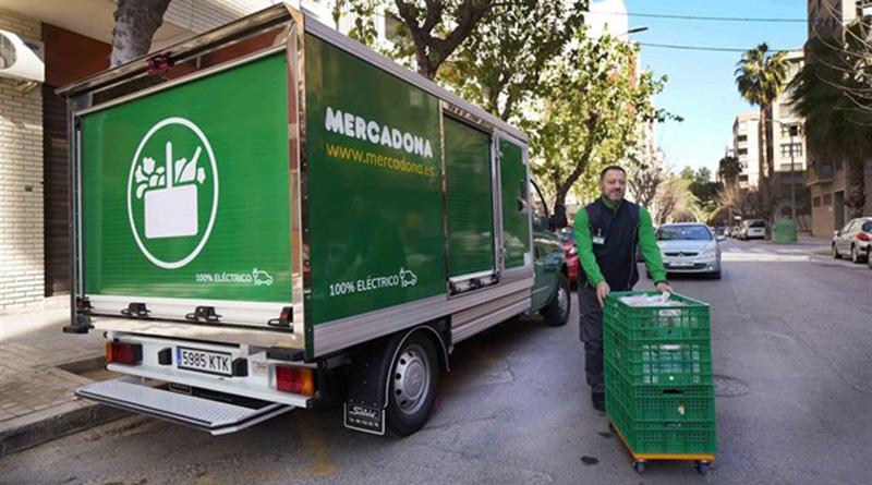 Mercadona apuesta por el transporte sostenible para sus repartos online