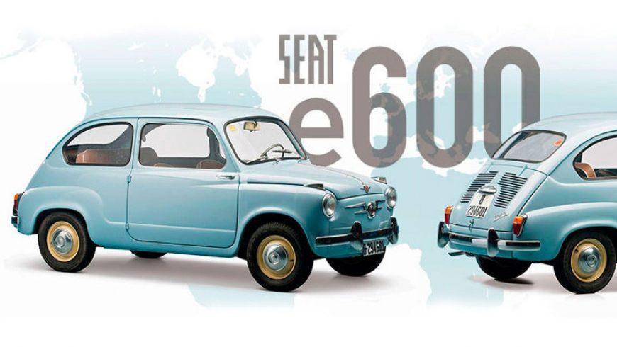 Movelco comercializará en España el e600, un Seat 600 transformado en coche eléctrico