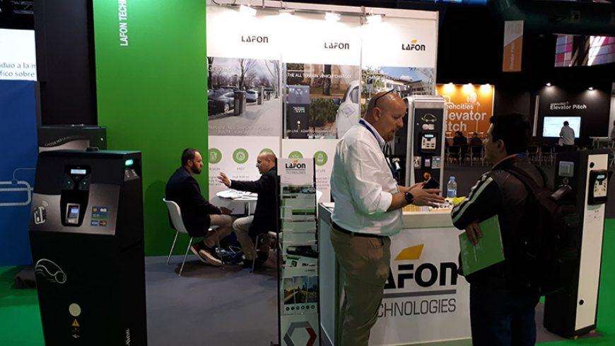 LAFON impulsa la movilidad eléctrica en Greencities y Motortec