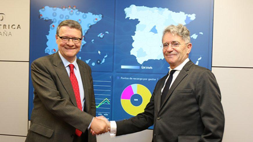 Red Eléctrica e Ibil firman un acuerdo de colaboración para impulsar la integración de la recarga ultrarrápida de los vehículos eléctricos en el sistema