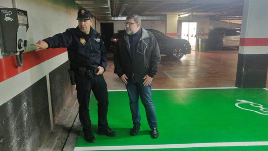 Simon instala puntos de carga en los parkings públicos de Vinaroz