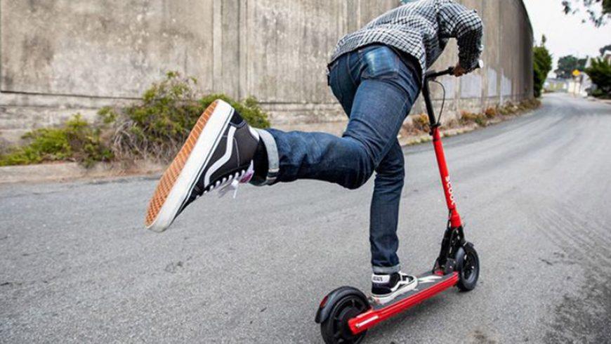 Uber estrena hoy en Madrid su servicio de patinetes eléctricos Jump