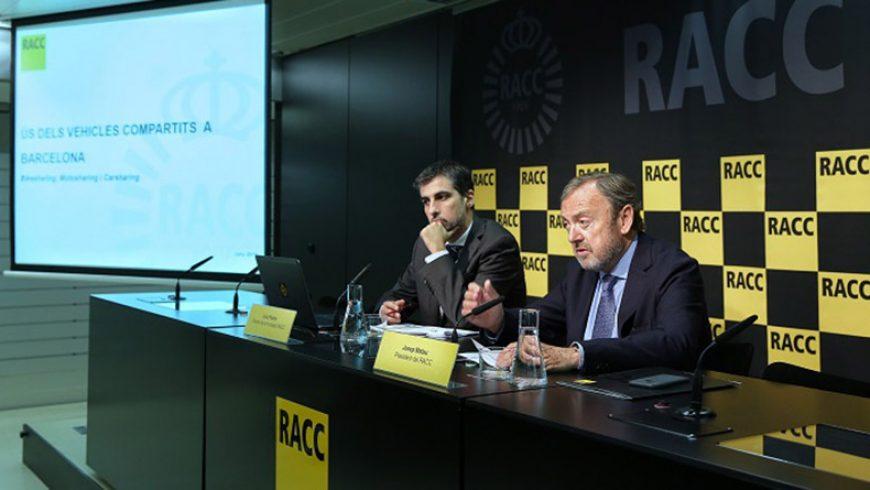 Estudio: Uso de los vehículos compartidos en Barcelona