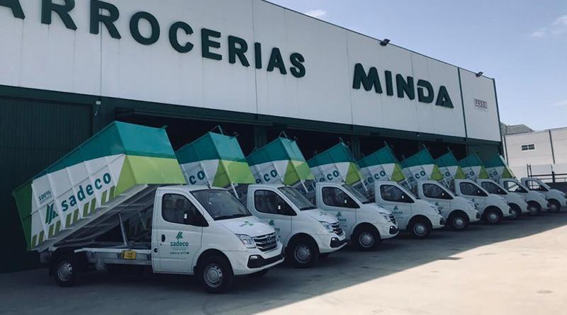 Una flota de 10 vehículos MAXUS EV80 100% eléctricos para la recogida de residuos sólidos en Córdoba