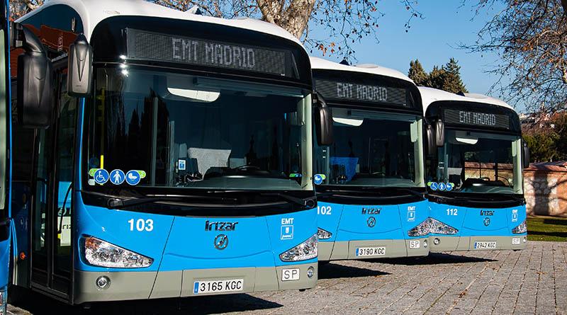 La Empresa Municipal de Transportes invierte 35 millones en la adquisición de 50 nuevos autobuses eléctricos