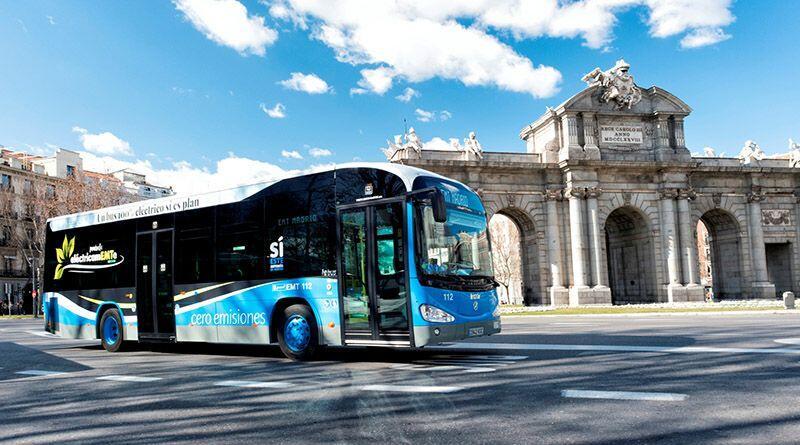 Las dos líneas de autobuses gratuitos y cero emisiones que recorrerán el centro de Madrid arrancarán en febrero
