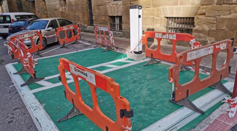 El Gobierno de La Rioja asigna 12.000 euros para el punto de recarga de vehículos eléctricos
