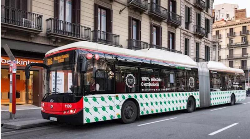 TMB adquiere autobuses articulados de emisiones cero de la empresa SOLARIS
