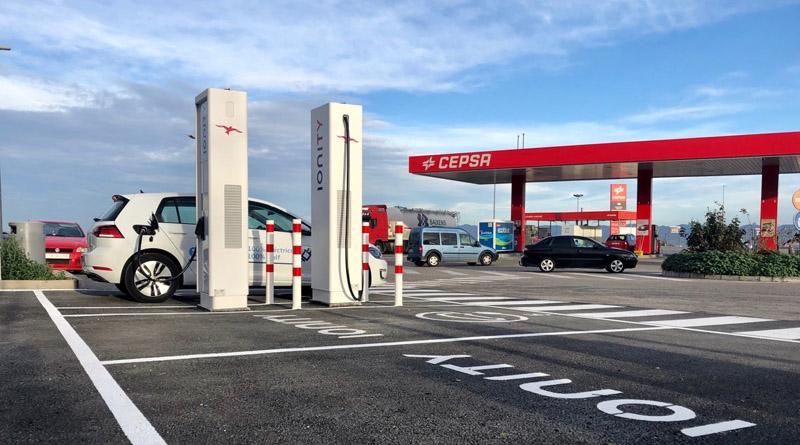 La red europea Ionity pone en marcha una instalación de recarga ultrarrápida en Murcia