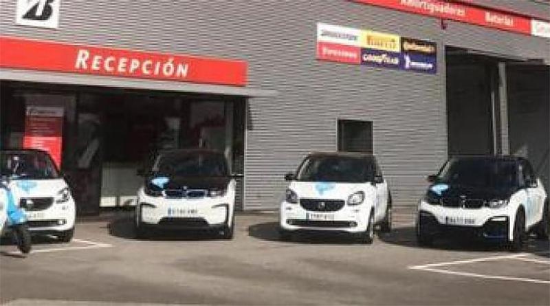 La flota de vehículos eléctricos de Hi!, a disposición del personal sanitario en Asturias