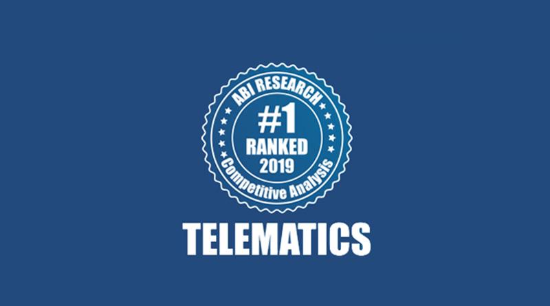 Geotab, nombrado proveedor de telemática comercial número uno en el mundo por ABI Research