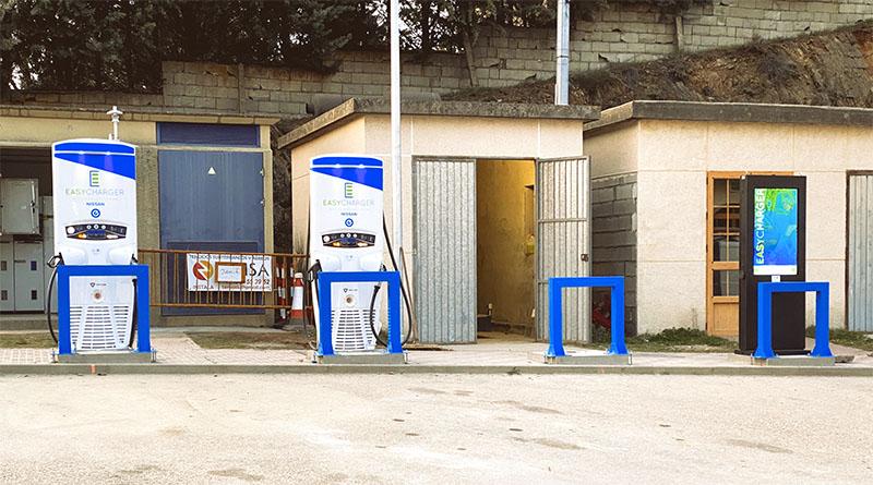 Easycharger estrena estación de recarga rápida en Puebla de Sanabria