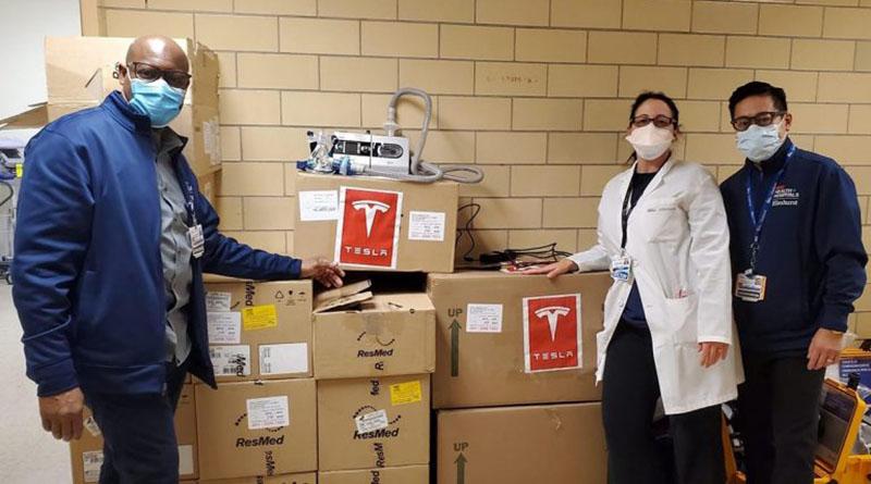 Tesla ofrece ventiladores gratuitos a los hospitales de todo el mundo